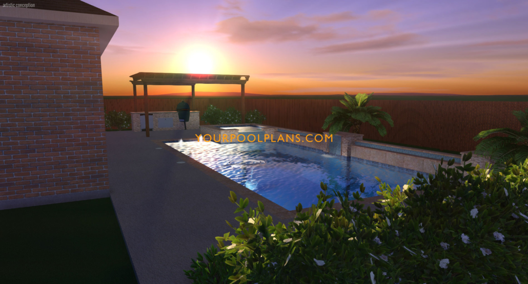 Pool Design Examples 3d Views Amp More Your Pool