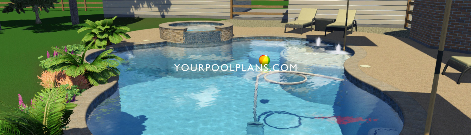 Pool Design Examples 3D Views & More | Your Pool ...