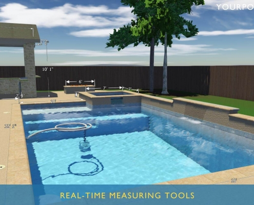 best places to get online 3D swimmign pool design plans