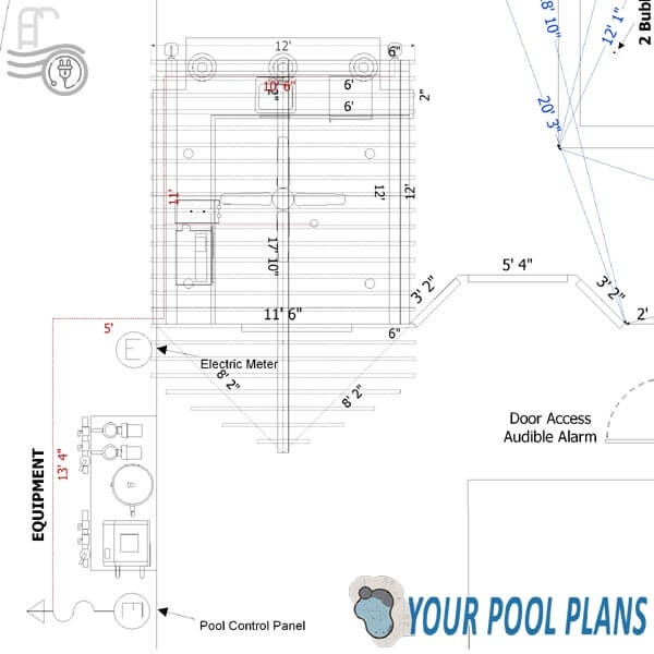 city permit pool plans design online