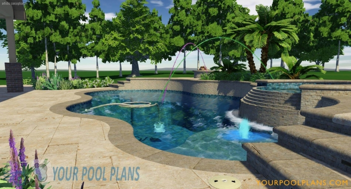 online swimming pool design construction plans services