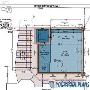 swimming pool area drainage design plans online