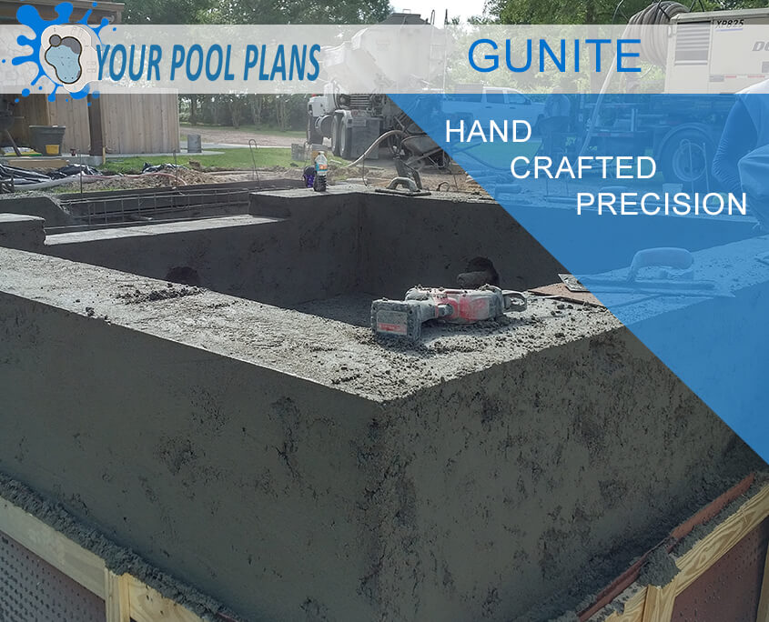 Gunite concrete specifications - for swimming pools