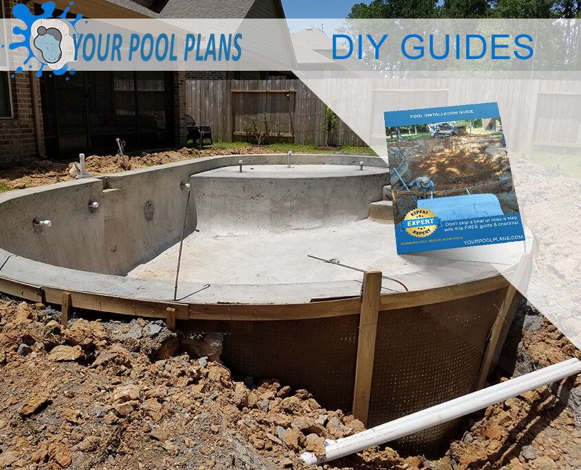 diy gunite swimming pool guides design plans