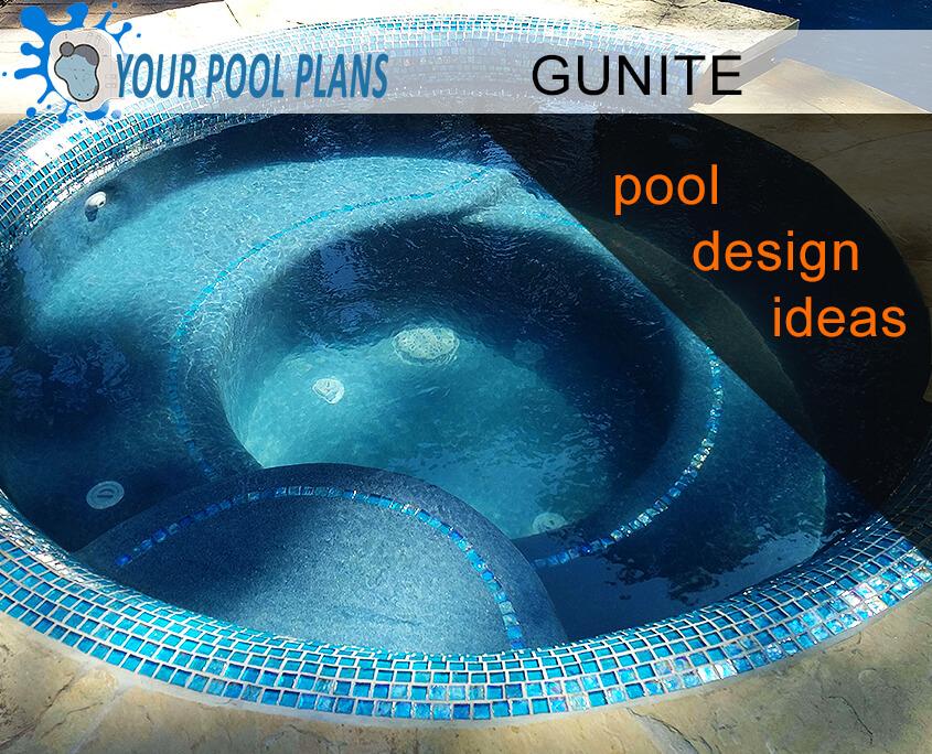 gunite swimming pool design ideas