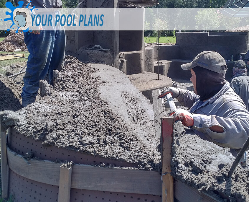 how gunite pools are made