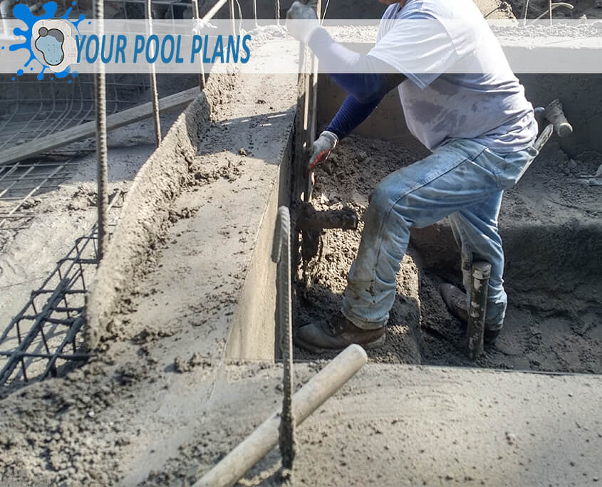 how gunite swimming pools are made
