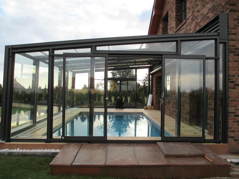 retractable swimming pool enclosure designs 2