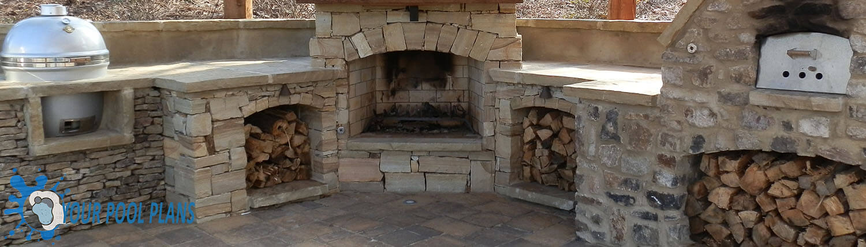 outdoor fireplaces design ideas