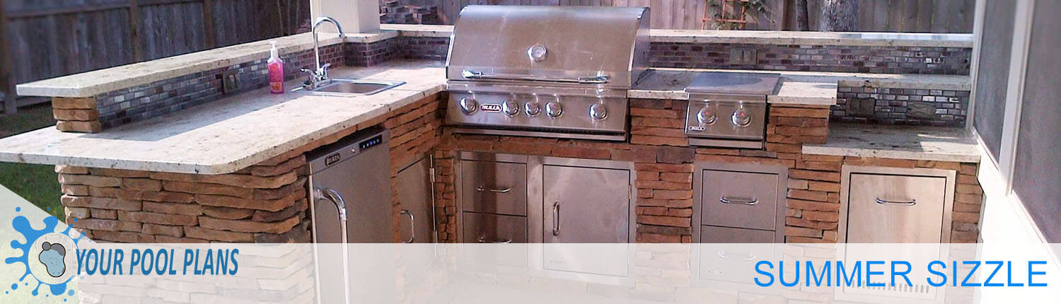 Your Perfect Outdoor Kitchen Area | Your Online Pool Design ...