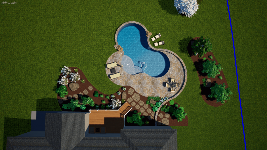 online 3d swimming pool plans