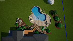 online 3d swimming pool plans