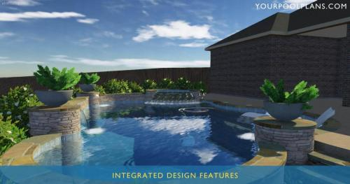 BEST ONLINE 3D SWIMMING POOL DESIGN PLANS